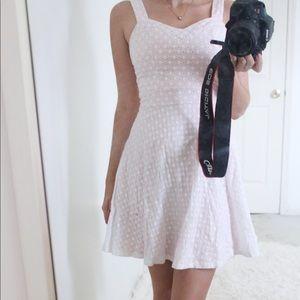 Lace Pink Ariana Grande Dress